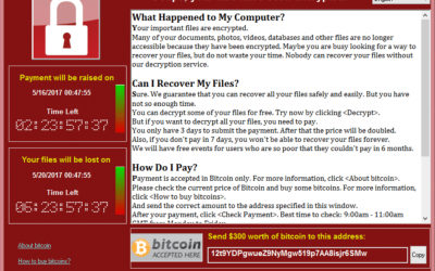 Security Advisory: WCry2 Ransomware Outbreak